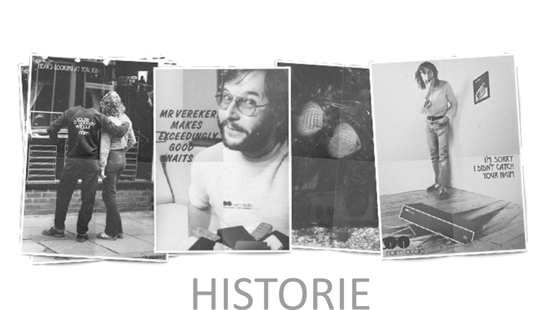 NAIM AUDIO Here will be shown short history of company