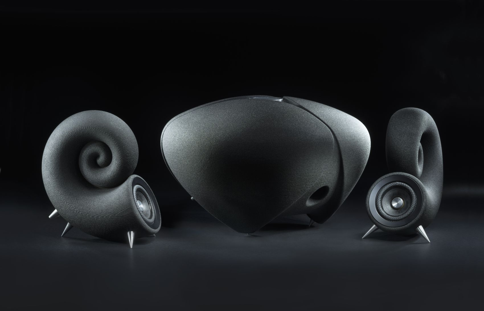 HiFi STUDIO EVEREST - HighEnd HiFi Audio / poslechové studio - DEEPTIME SPIRULA SPEAKERS