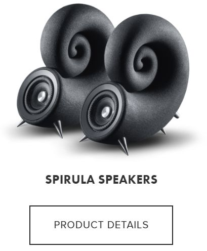 SPIRULA SPEAKERS PRODUCT DETAILS