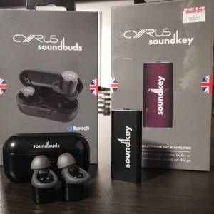 CYRUS AUDKO SOUNDBUDS AND SOUNDKEY