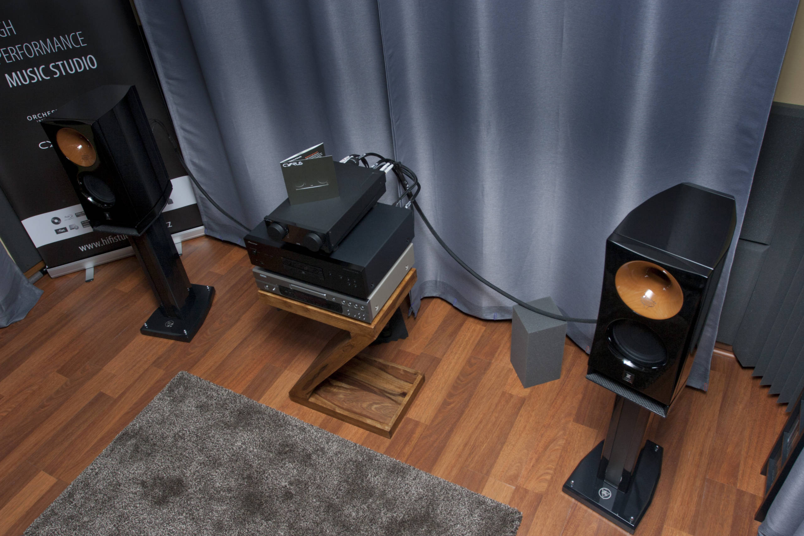 HiFi STUDIO EVEREST - HighEnd HiFi Audio / poslechové studio - HIFISTUDIOEVEREST PHOTO