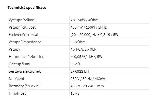 TECHNICKA SPECIFIKACE AI2.10 CANOR HIFISTUDIOEVEREST